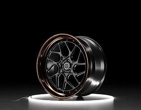 Brixton Forged CM7 Circuit Car wheel 3D