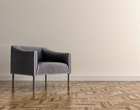Jasper Morrison armchair 3D