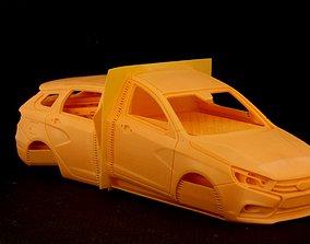 Lada Vesta 3D print model