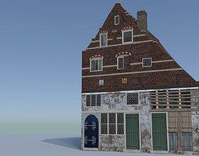 architecture 3D Dutch Golden Age House