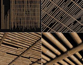 Ceiling bamboo cage random decor n1 3D