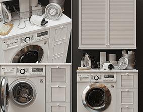 3D model Laundry Decor