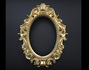 ornament frames for paintings or mirrors 3D model