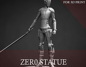 toy Zer0 Statue for 3D Print