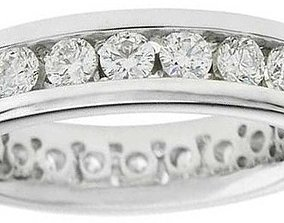 Diamond Ring 3D printable model elegant