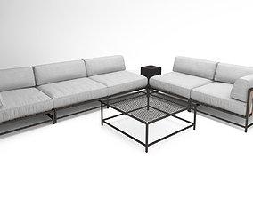 Stephen Kenn Sk sectional love seat corner lounge 3D