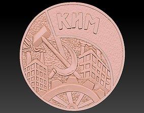 3D print model Badge Factory Building City