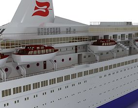 Royal Viking Star 3D asset
