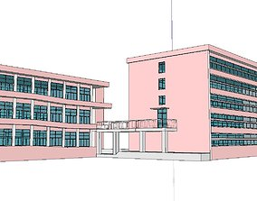 3D Office-Teaching Building-Canteen 23