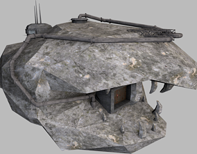 3D asset game-ready Mal hideout