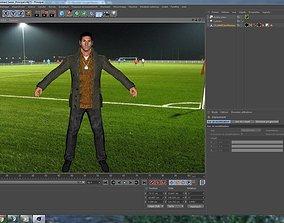 3D Messi Argentine