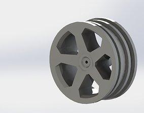 3D print model RC Car Wheel Truck Rim Offroad
