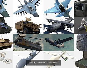 3D model Military Collection