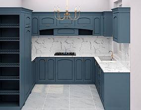 3D Kitchen Neoclassic Interior