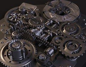 Mechanism Animation 3D corona