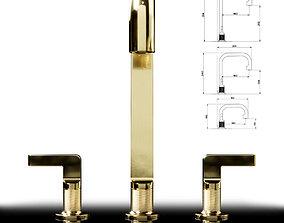 Gessi inciso- basin mixer 3D model