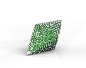 Sim pendant crystal 3D printable model