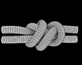 fisherman knot 3D model