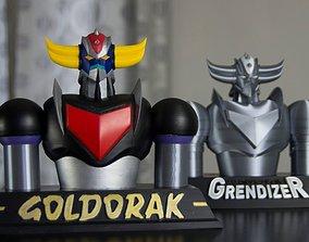 3D printable model Grendizer bust
