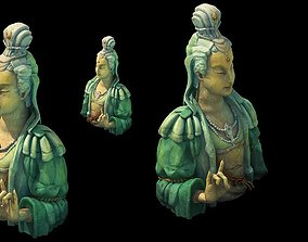 Game Model - Kapya Buddha Forest Statue 011 3D