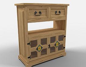 3D model Sunflower Rustic Cutlery Furniture