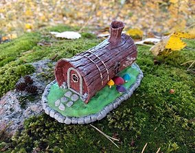3D printable model House in a Log