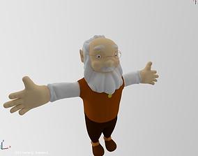3D Santa Elf