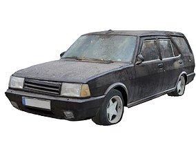 3D model Old Car Scan 2