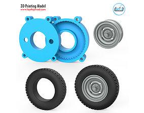 Vehicle Tire Mold 3D print model