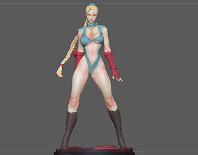CAMMY STREET FIGHTER GAME CHARACTER 3D printable model 2