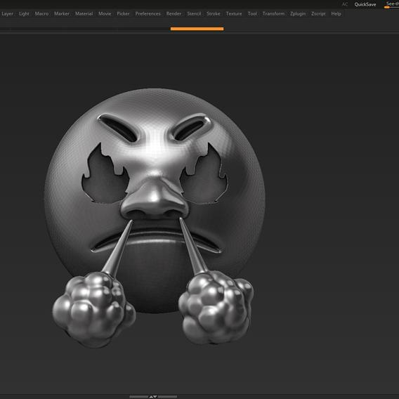 Emoji 3D  print model