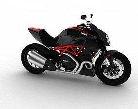 Ducati Diavel 2011 3D
