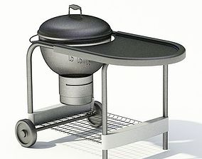 Outdoor Garden Grill 3D