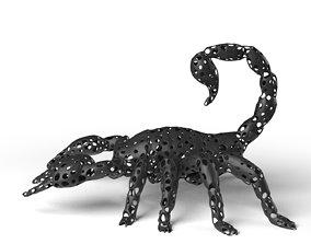 Scorpion Voronoi 3D model