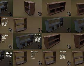 3D Console Table Set 01
