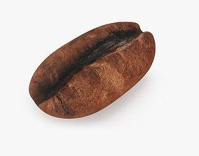 3D Coffee Bean hot