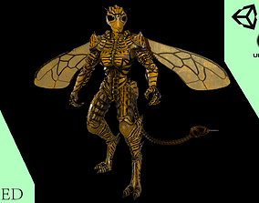 3D model Mutant Wasp