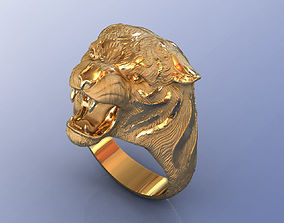 Carrera Tiger Ring luxury 3D printable model