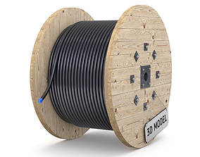Cable Drum 3D cord