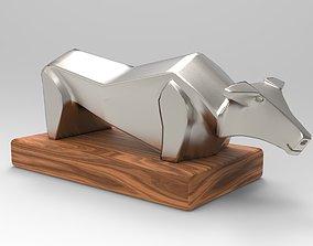 3D model Bull Object