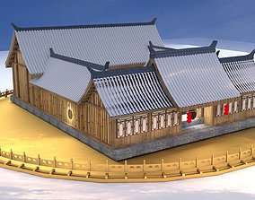 3D model historic Chinese ancient house