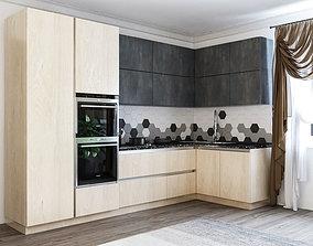 inside 3D kitchen