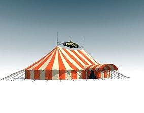 circus tent 3D cirque