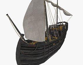 3D model Notorious ship