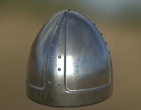 3D model Norman Helmet