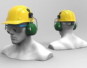 3D industrial Safety helmet