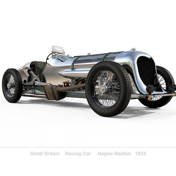 Napier-Railton Race Car  1933