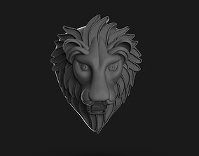 Lion Badge Printable