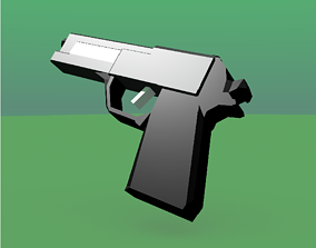 M8 pistol 3D asset