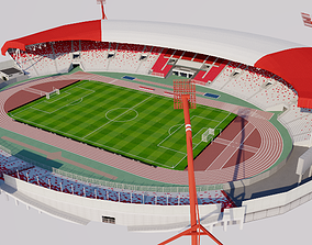 3D Bahrain National Stadium